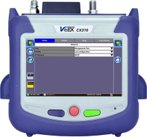 VeEX CX310 Handheld DOCSIS 3.1 Installation Test Set